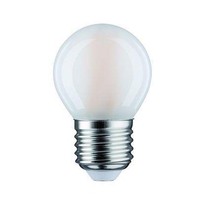 Mleczna żarówka LED - 470lm, E27, 2700K