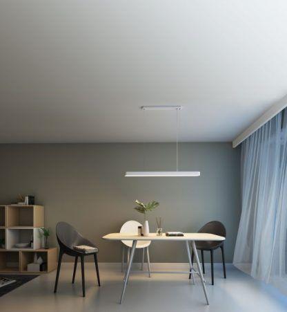 nowoczesna lampa do jadalni z aplikacją
