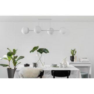 Lampa sufitowa Kop D nad stół w jadalni