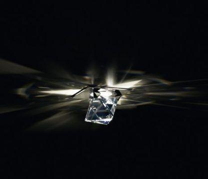 Oczko sufitowe Octa ceiling Swarovski na korytarz