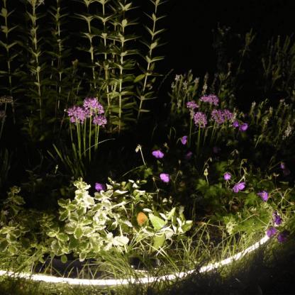 listwa led do oświetlenia ogrodu