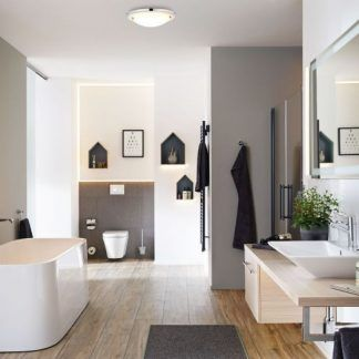 Plafon Arctus do łazienki bez okna