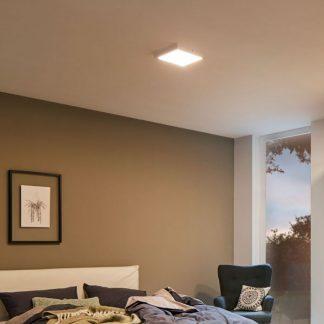Plafon Atria do sypialni - kwadratowy LED