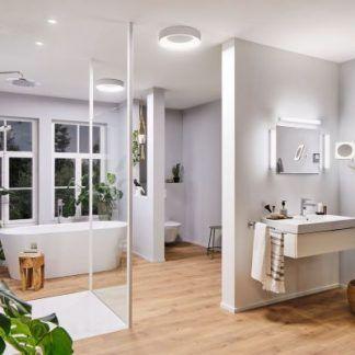 Plafon Casca to nowoczesny i niezwykle elegancki kinkiet, który sprawdzi się w łazience i nie tylko. Posiada wbudowany led. Światło posiada możliwość regulacji w zakresie 27000K do 6500K. Wybierz jeden z kolorów światła i odmieniaj wnętrze swojego domu.