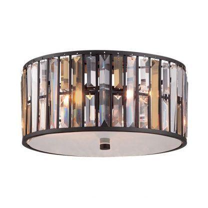 Plafon Opal do eleganckiej sypialni
