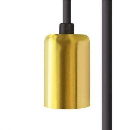 Przewód Cameleon - złota oprawka, E27, 7m