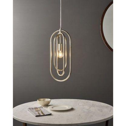 Lampa wisząca Meera nad stół w jadalni
