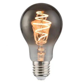 Szara żarówka E27 - dekoracyjna, LED