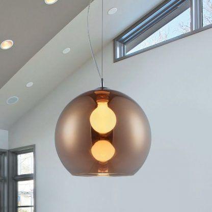 Szklana lampa Vero do nowoczesnej kuchni