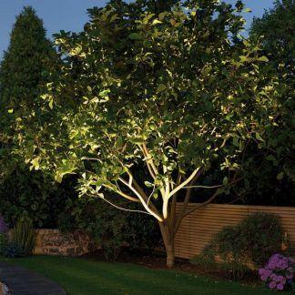 Zewnętrzna lampa ziemna Cone do ogrodu
