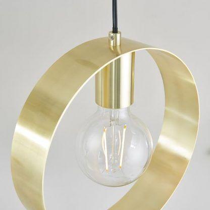 zloty ring lampa wisząca