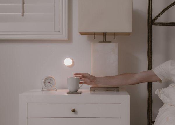 lampka na baterie do sypialni