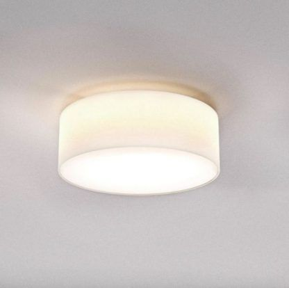 lampa sufitowa biały abażur